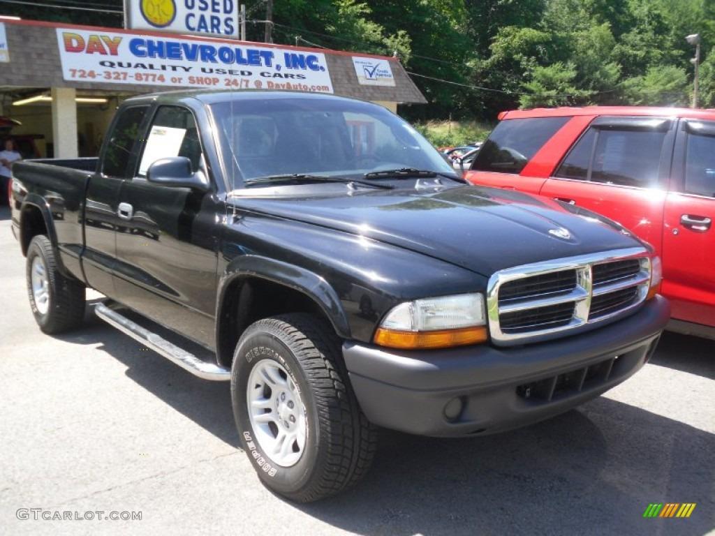 Black Dodge Dakota