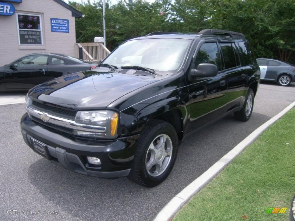 2004 Trailblazer Ext Ls Black Medium Pewter Photo 1