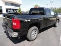 2011 Black Chevrolet Silverado 1500 LS Extended Cab 4x4  photo #7