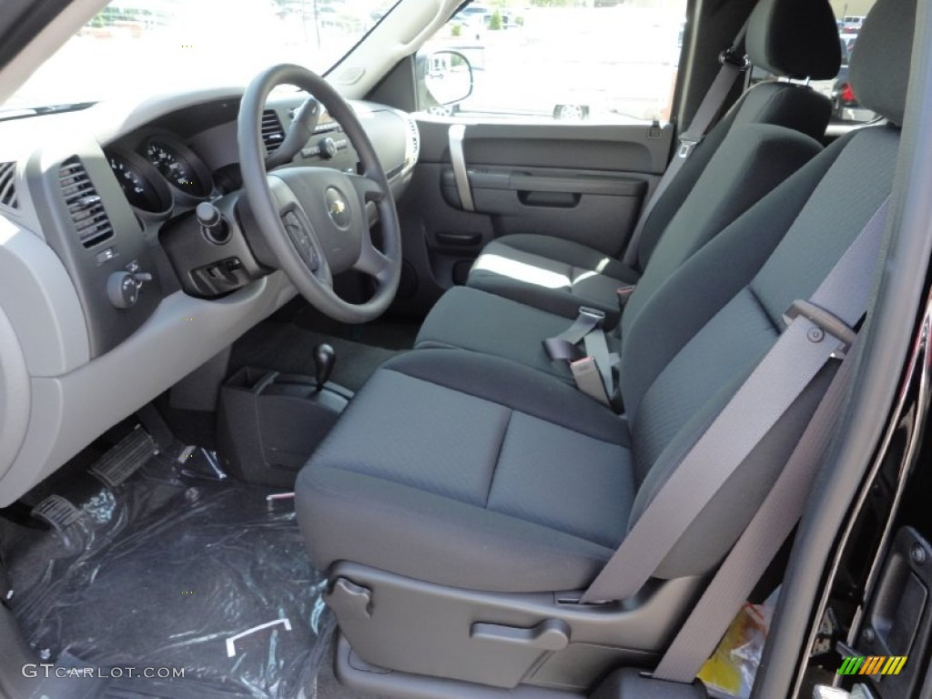 2011 Silverado 1500 LS Extended Cab 4x4 - Black / Dark Titanium photo #10