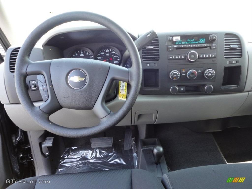 2011 Silverado 1500 LS Extended Cab 4x4 - Black / Dark Titanium photo #11