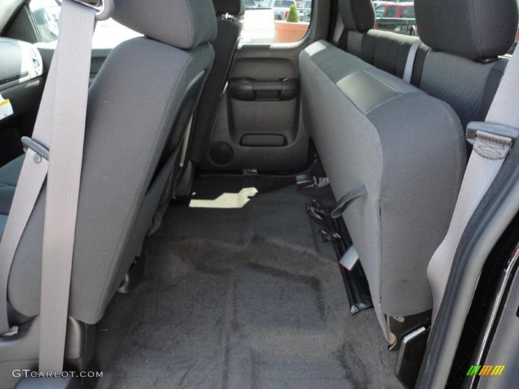 2011 Silverado 1500 LS Extended Cab 4x4 - Black / Dark Titanium photo #14