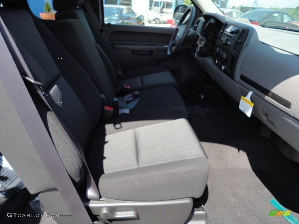 2011 Silverado 1500 LS Extended Cab 4x4 - Black / Dark Titanium photo #17
