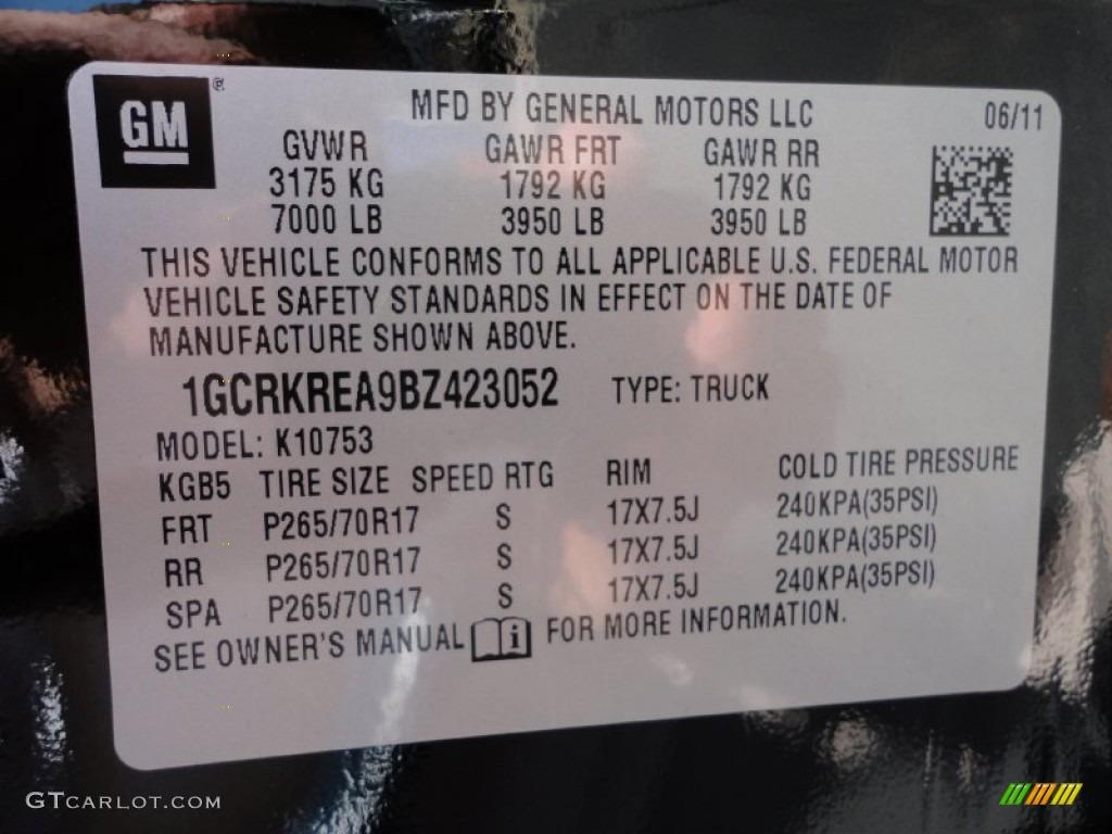 2011 Silverado 1500 LS Extended Cab 4x4 - Black / Dark Titanium photo #20