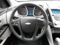 Jet Black/Light Titanium Steering Wheel Photo for 2010 Chevrolet Equinox #51816593