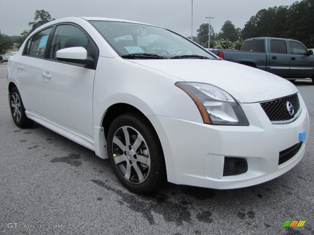 2012 aspen white nissan sentra 2 0 sr special edition. Black Bedroom Furniture Sets. Home Design Ideas