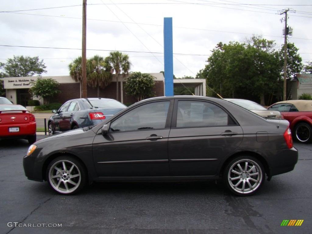2006 Kia Spectra EX Sedan Custom Wheels Photo #51826738