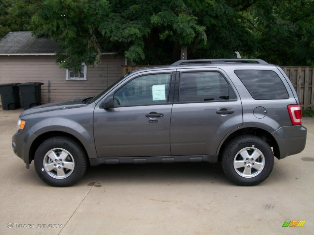Sterling Gray Metallic 2012 Ford Escape Xlt Exterior Photo