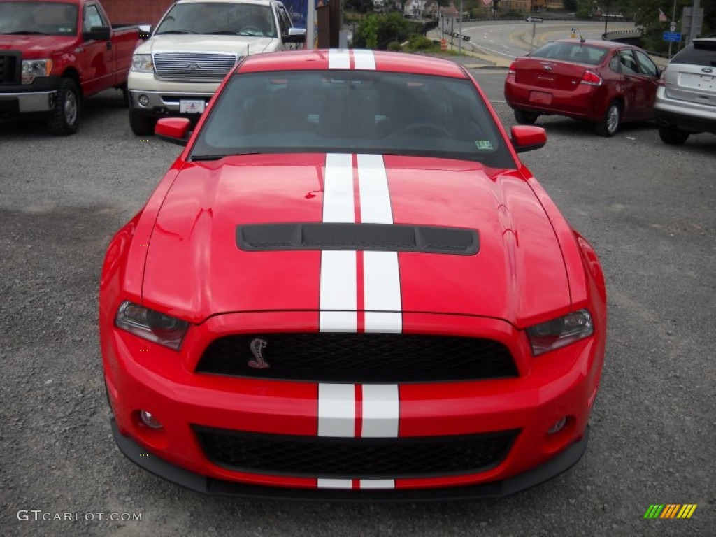 race red 2012 ford mustang shelby gt500 svt performance package coupe exterior photo 51837835. Black Bedroom Furniture Sets. Home Design Ideas