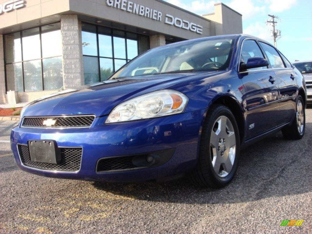 2006 laser blue metallic chevrolet impala ss 51824938. Black Bedroom Furniture Sets. Home Design Ideas
