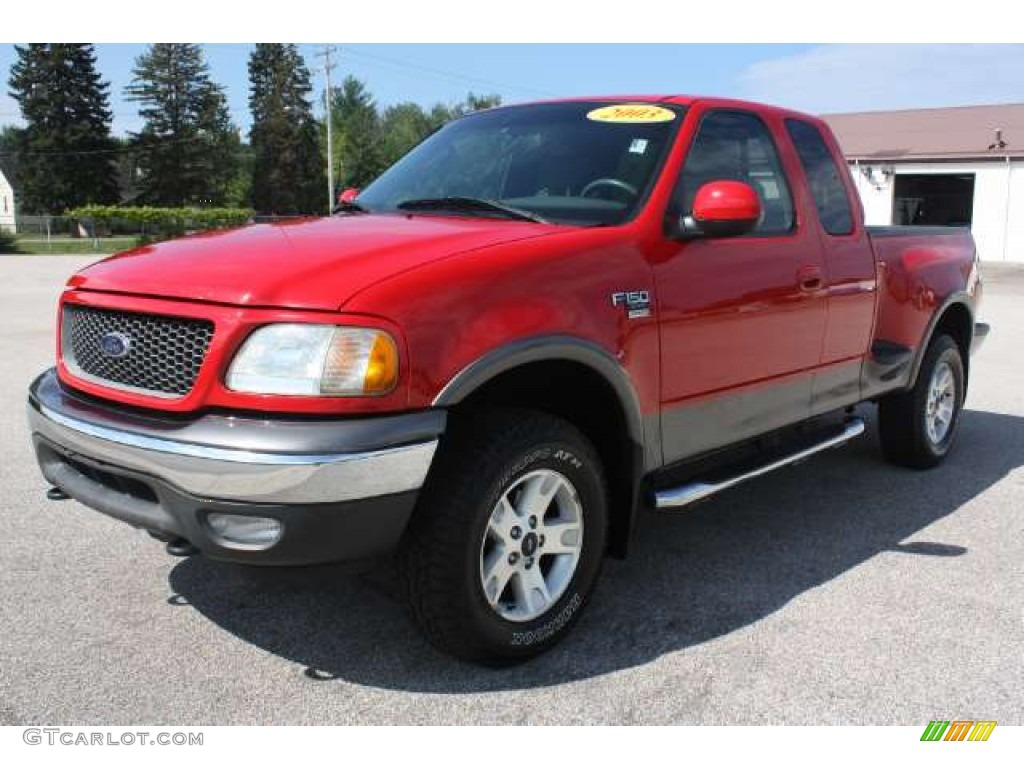 Chestnut metallic 2001 ford f150 xlt supercab 4x4 exterior photo - Bright Red Ford F150 Ford F150 Fx4 Supercab 4x4