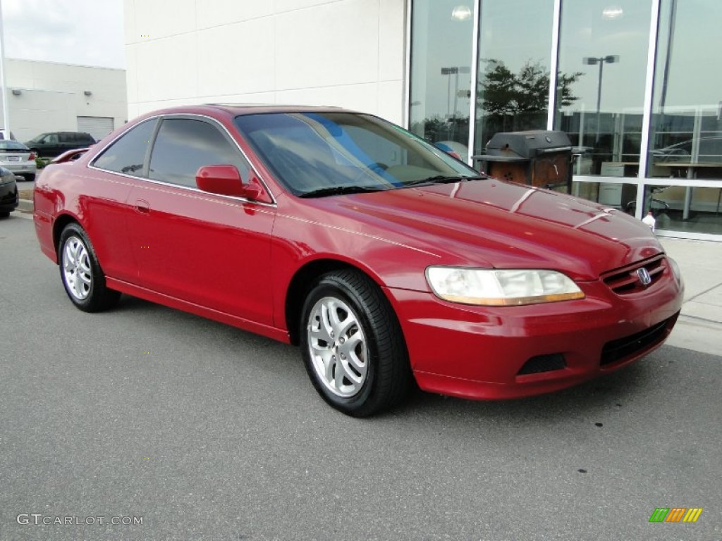 2002 san marino red honda accord ex v6 coupe 51848568 photo 2 car color galleries. Black Bedroom Furniture Sets. Home Design Ideas
