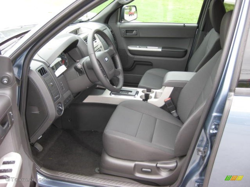 charcoal black interior 2012 ford escape xlt 4wd photo. Black Bedroom Furniture Sets. Home Design Ideas