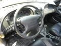 Dark Charcoal 2002 Ford Mustang GT Coupe Steering Wheel