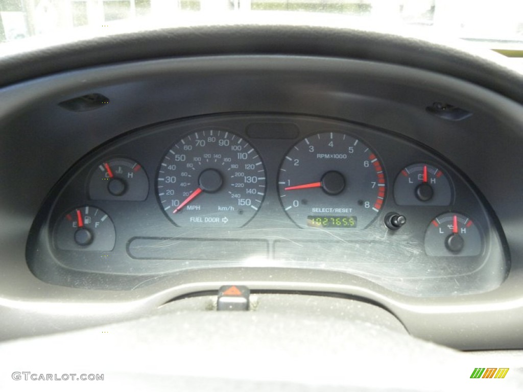 2002 Ford Mustang GT Coupe Gauges Photo #51850820
