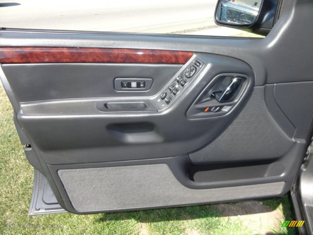 2004 Jeep Grand Cherokee Limited 4x4 Dark Slate Gray Door Panel Photo 51853919