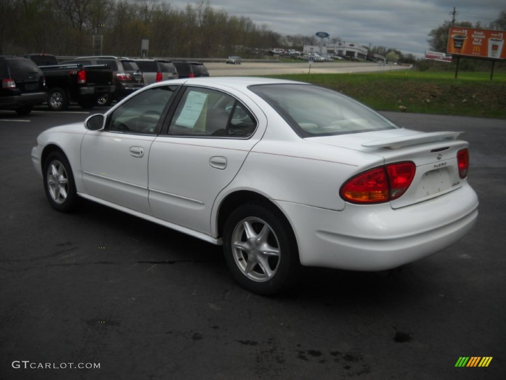 2001 arctic white oldsmobile alero gl sedan 51856473 photo 5 gtcarlot com car color galleries gtcarlot com