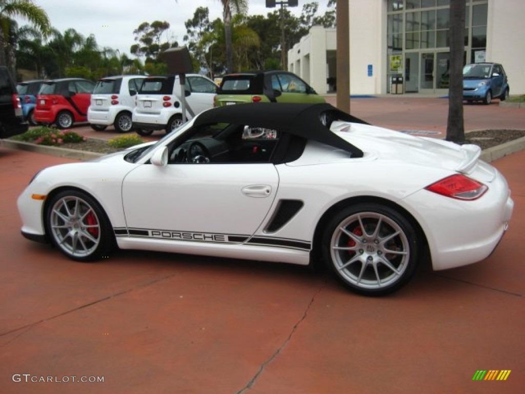 carrara white 2012 porsche boxster spyder exterior photo 51871330 - Porsche Spyder 2012