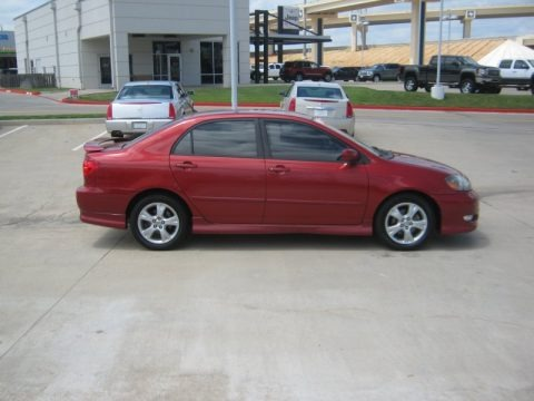 2006 toyota corolla xrs data info and specs. Black Bedroom Furniture Sets. Home Design Ideas