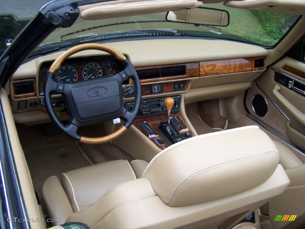 Coffee Interior 1996 Jaguar Xj Xjs Convertible Photo