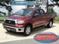 2009 Salsa Red Pearl Toyota Tundra Double Cab  photo #1
