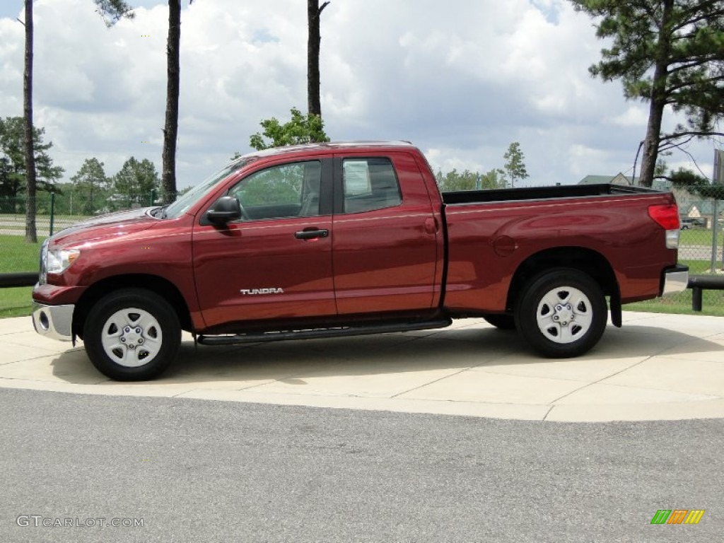 salsa red pearl 2009 toyota tundra double cab exterior. Black Bedroom Furniture Sets. Home Design Ideas