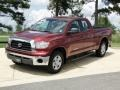 2009 Salsa Red Pearl Toyota Tundra Double Cab  photo #10