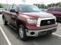 2009 Salsa Red Pearl Toyota Tundra Double Cab  photo #37