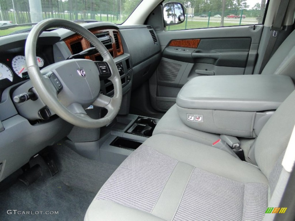 Medium Slate Gray Interior 2006 Dodge Ram 1500 SLT Mega ...