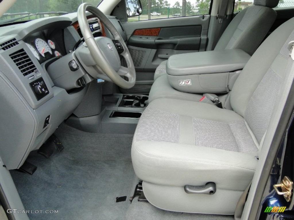 Medium Slate Gray Interior 2006 Dodge Ram 1500 Slt Mega Cab Photo 51877327