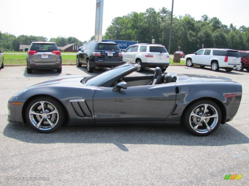 2011 Cyber Gray Metallic Chevrolet Corvette Grand Sport Convertible 51856513 Photo 4