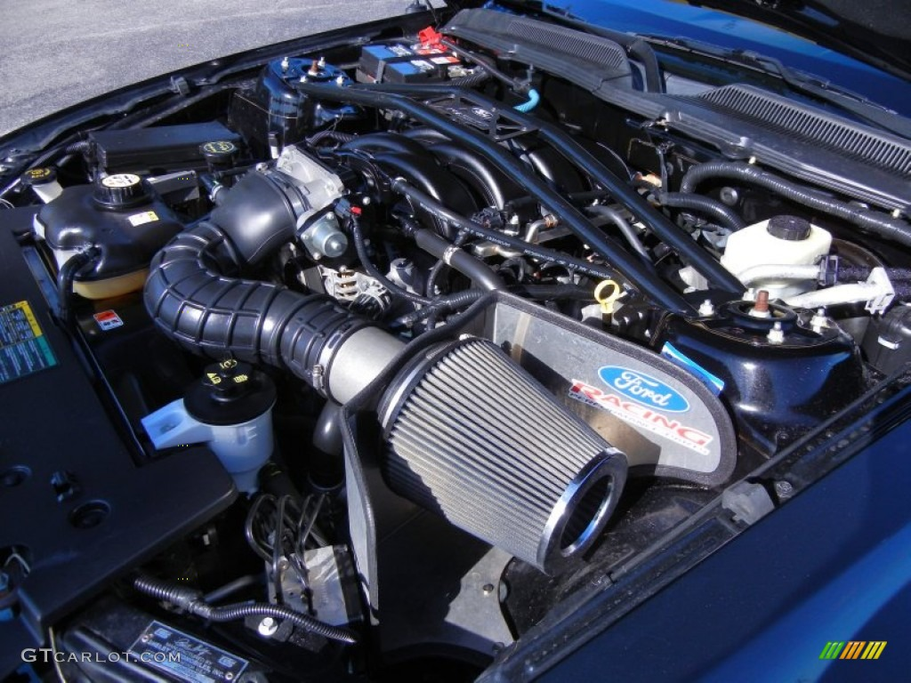 2006 Ford Mustang Shelby GT-H Coupe Engine Photos