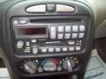 2001 Pontiac Grand Am Dark Taupe Interior Controls Photo