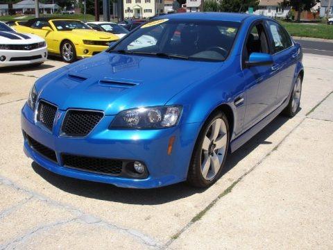 2009 Pontiac G8 GT Data, Info and Specs