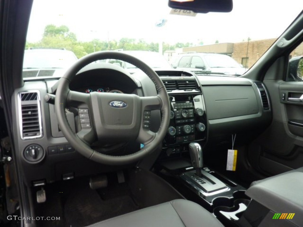 2012 ford escape limited v6 4wd charcoal black dashboard. Black Bedroom Furniture Sets. Home Design Ideas