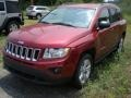 Deep Cherry Red Crystal Pearl 2011 Jeep Compass Gallery