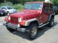 1998 Chili Pepper Red Pearl Jeep Wrangler Sport 4x4  photo #1