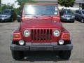 1998 Chili Pepper Red Pearl Jeep Wrangler Sport 4x4  photo #2