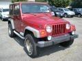 1998 Chili Pepper Red Pearl Jeep Wrangler Sport 4x4  photo #3