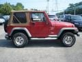 1998 Chili Pepper Red Pearl Jeep Wrangler Sport 4x4  photo #4