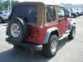 1998 Chili Pepper Red Pearl Jeep Wrangler Sport 4x4  photo #5