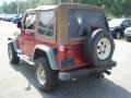 1998 Chili Pepper Red Pearl Jeep Wrangler Sport 4x4  photo #7