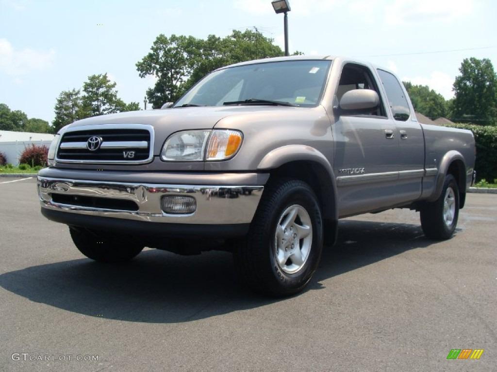 2000 Thunder Gray Metallic Toyota Tundra Limited Extended