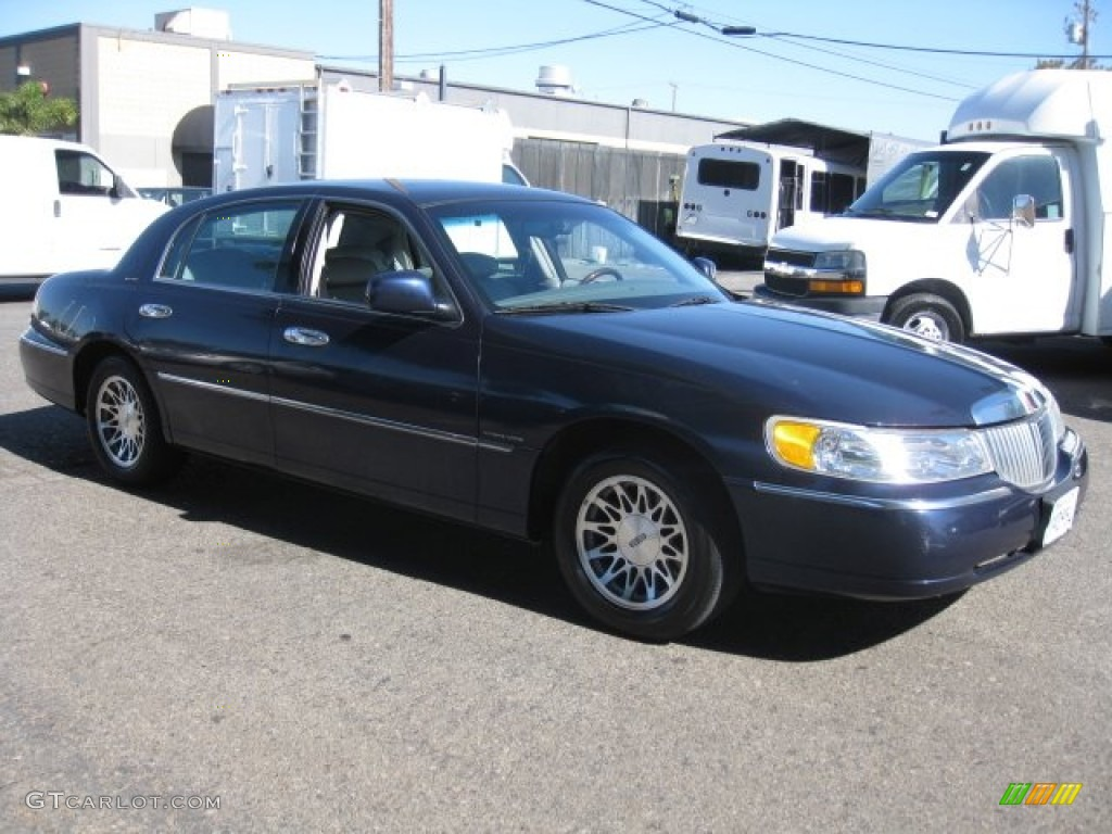 2001 Pearl Blue Metallic Lincoln Town Car Signature 51856112 Continental Wiring Diagram