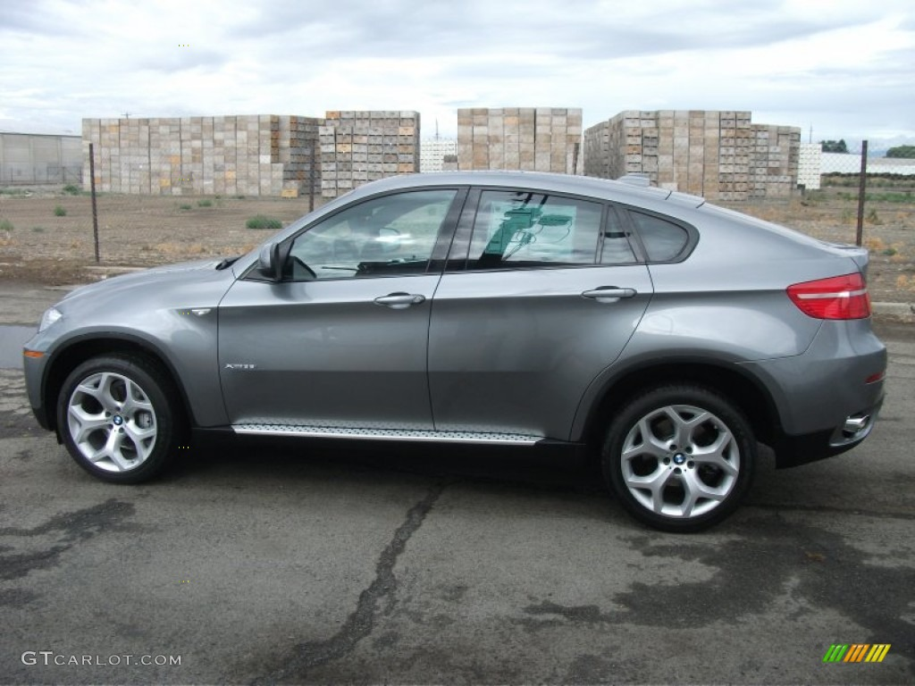 Space Grey Metallic 2008 Bmw X6 Xdrive35i Exterior Photo