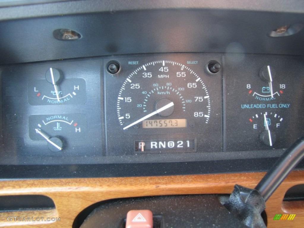 1994 ford econoline e150 passenger conversion van gauges photo 51926228