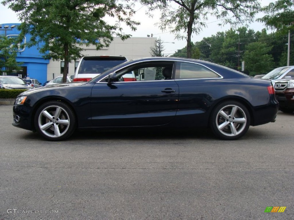 2009 Deep Sea Blue Pearl Audi A5 3 2 Quattro Coupe 51857249 Gtcarlot Com Car Color Galleries