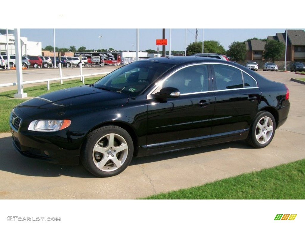 2008 black volvo s80 t6 awd 51857271 gtcarlotcom car