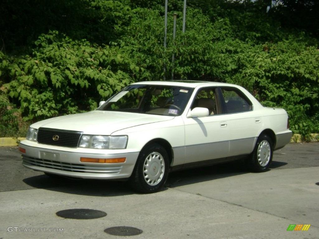 1991 diamond white pearl metallic lexus ls 400 51856696 car color galleries. Black Bedroom Furniture Sets. Home Design Ideas