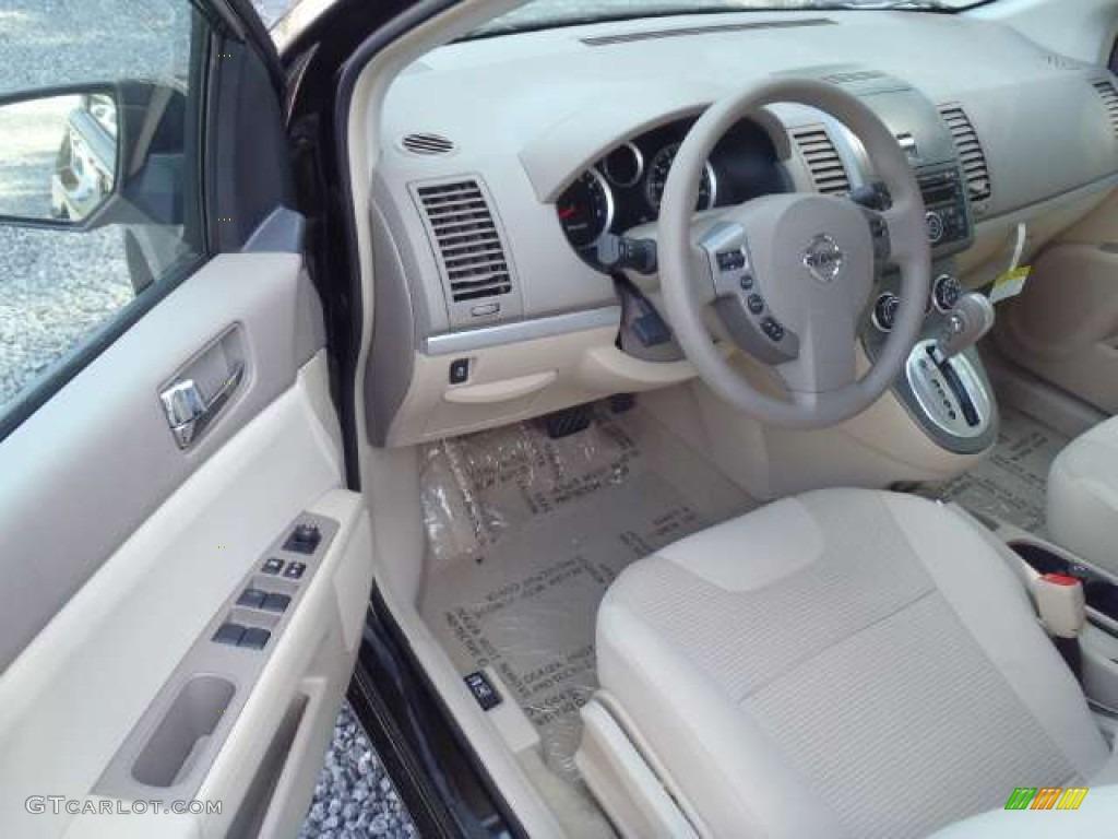 beige interior 2012 nissan sentra 2 0 s photo 51946289. Black Bedroom Furniture Sets. Home Design Ideas